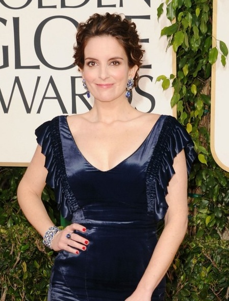 2011 Golden Globes Tina Fey. Tina Fey looked lovely with